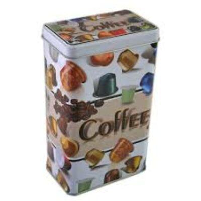 Kávékapszula mintás kávé és kapszulatartó doboz
