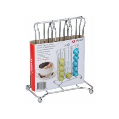 30 db-os kávékapszula tartó