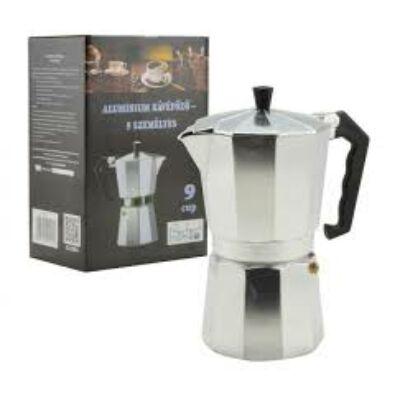 9 személyes kotyogós kávéfőző