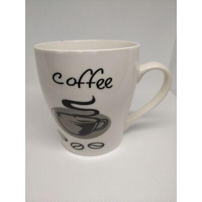 Coffe feliratú kávémintás kávésbögre