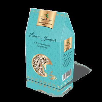 Lemon Juniper – Citromos-mentás gyógyfüves szálas tea