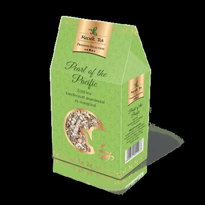 Pearl of the Pacific –Kandírozott ananásszal és mangóval ízesített szálas zöld tea