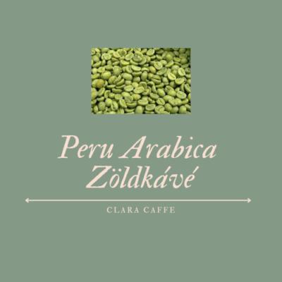 250g Peru szemes zöldkávé