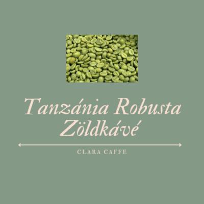 1 kg Tanzánia robusta zöldkávé