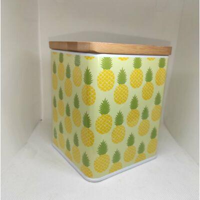Ananászos kávétartó doboz