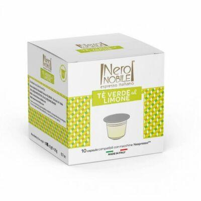 Zöld tea citrommal Nespresso tea kapszula