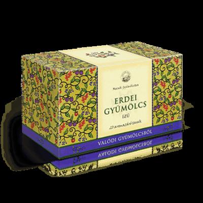 Erdei gyümölcs ízű filteres gyümölcstea