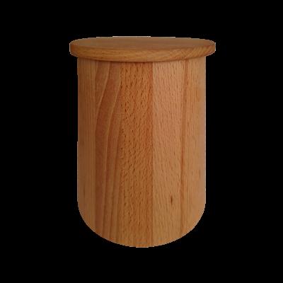 500ml-es fa kávétartó doboz