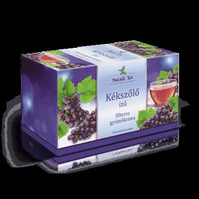 Kékszőlő ízű filteres gyümölcstea