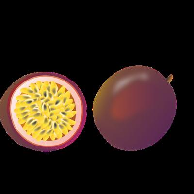 Passion fruit ízű bázis jégkása alapanyag ( fekete )