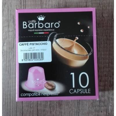 5 db pisztáciás Nespresso kávékapszula