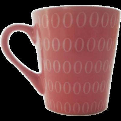 150ml-es rózsaszín kávésbögre