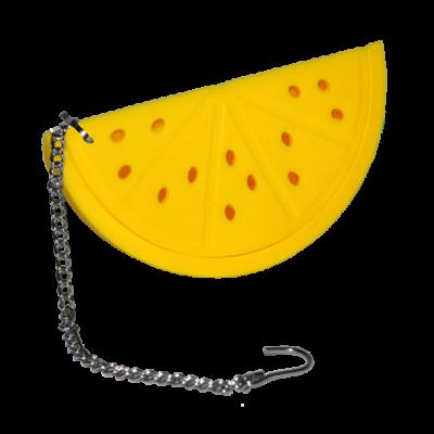 Sárga, dinnye alakú teatojás