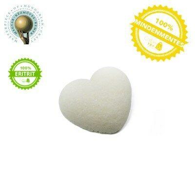 1 db fehér szív Eritrit