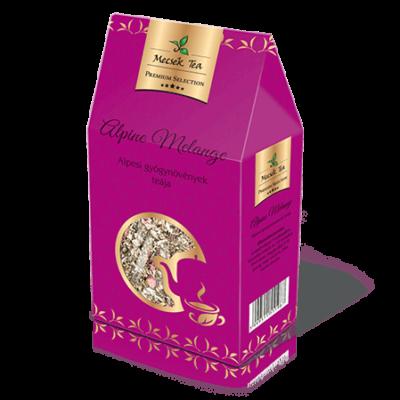 Alpine Melange – Alpesi gyógynövényekből összeállított szálas tea