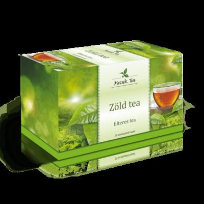 Filteres zöld tea