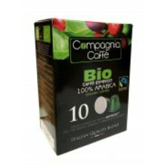 Bio kávé- Nespresso kompatibilis kávékapszula