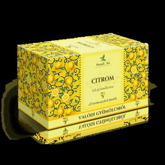Citrom ízű filteres gyümölcstea
