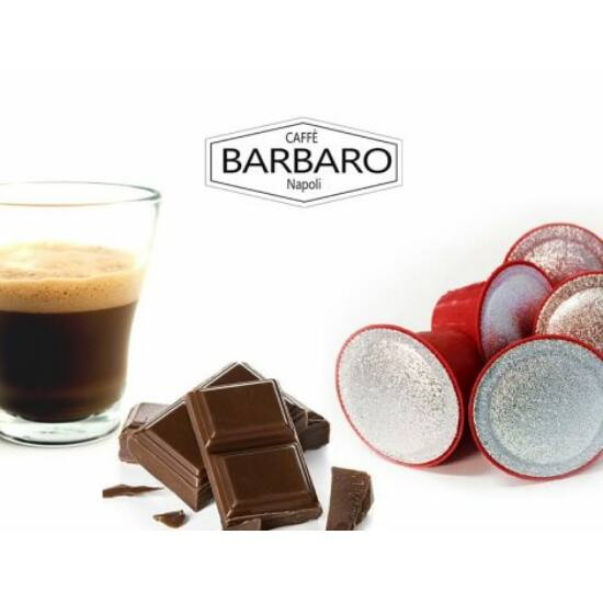 5 db csokis Nespresso kávékapszula