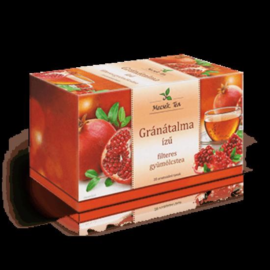 Gránátalma ízű filteres gyümölcstea