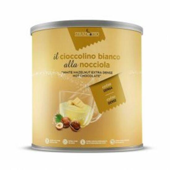 Extra sűrű mogyorós fehér forró csoki por 500g
