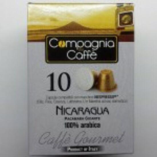 Nicaragua - Nespresso kávékapszula