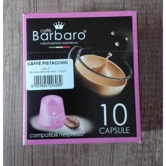 1 db pisztáciás Nespresso kávékapszula