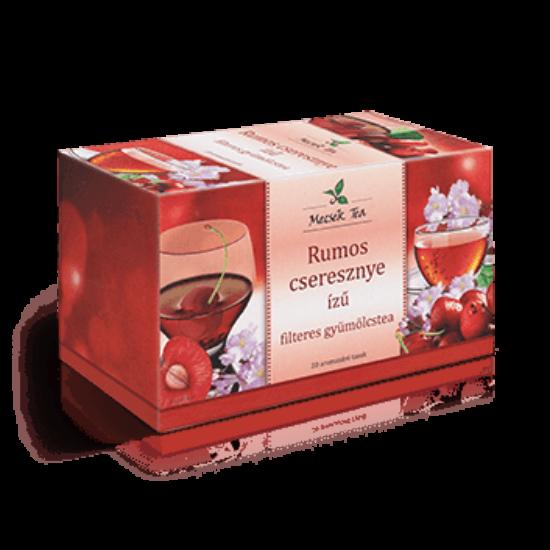 Rumos- cseresznye ízű filteres gyümölcstea